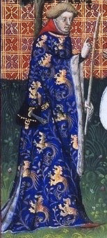 April 30, 1331:Gaston III, Count of Foix, also known as Gaston Fébus, is born in Orthez, France.The count won a fortune in battle against the family of D'Armagnac in 1362 after he captured his rivals and ransomed them for 600,000 florins. Gaston's son, also called Gaston, tried to betray him and kill him by poisoning him with a powder he received from King Charles II of Navarre. His father imprisoned him, and then later accidentally stabbed and killed him during a fight. Gaston Fébus was also known for being one of the greatest huntsmen of the period, and died of a stroke while washing his hands after returning from a bear hunt. He dedicated a book about hunting to Philip the Bold, Duke of Burgundy, in 1388, which depicts stages of hunting in miniatures, including information on how to hunt different animals.