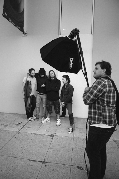 theshutterclick:  the used - behind the scenes