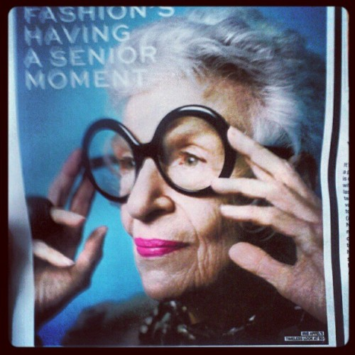 I want to be as cool as this woman when Im older (Taken with instagram)