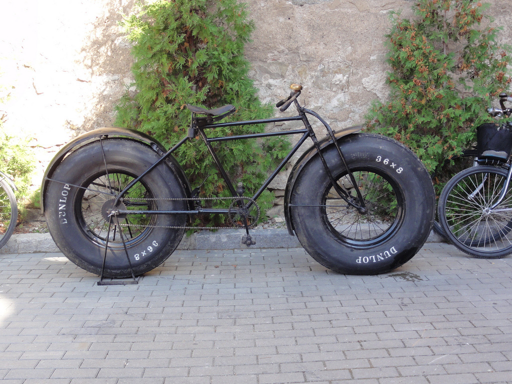 Before there was monster trucks there was monster bikes