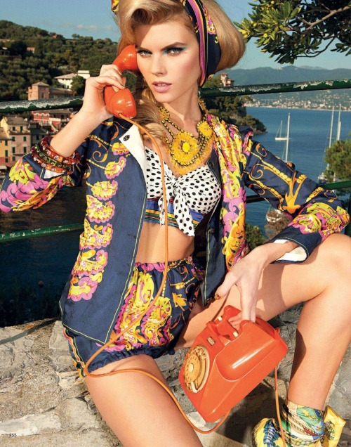 "noenespanol:  ""The Party Begins at Sunrise"" VOGUE Nippon June 2012 Maryna Linchuk by Pierpaolo Ferrari"