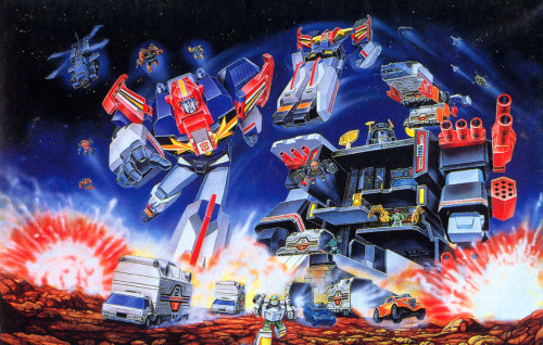 Gotta love that G1 Transformers artwork - I think this is airbrushed.
