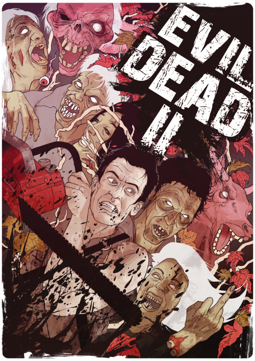 Evil Dead II by James Fenwick for Cult Cinema Sunday