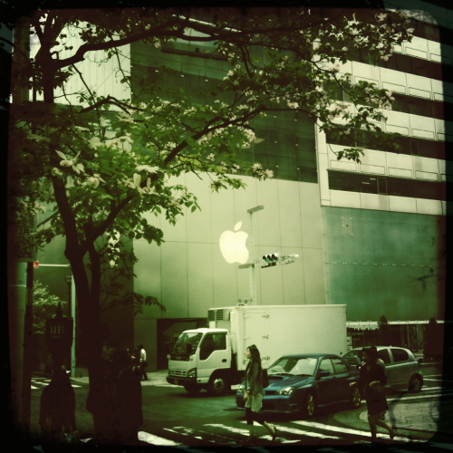 Apple Store: Hipstamatic version