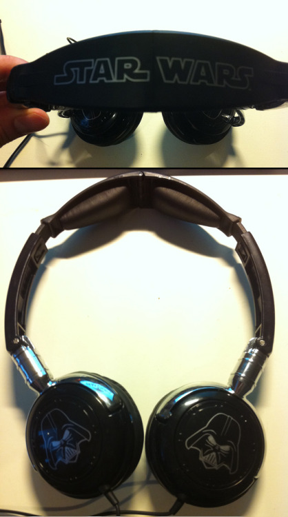Star Wars headphones review (Swe & Eng).