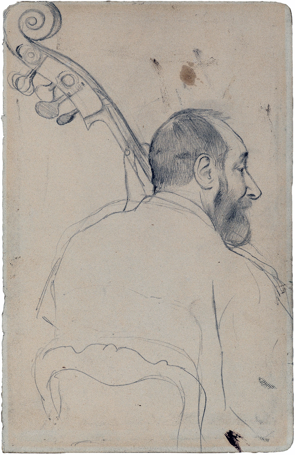 Edgar Degas - Sketch