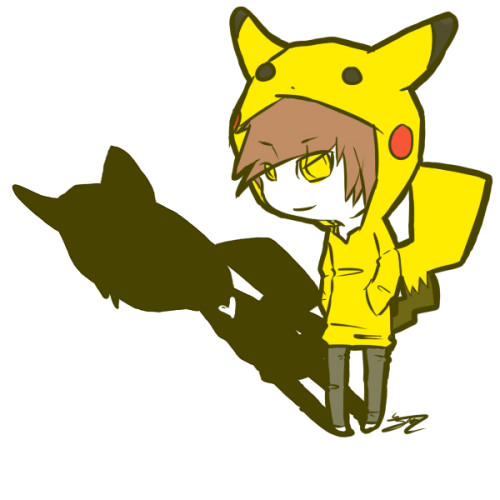 old(e) old REALLY old drawing of pikachu