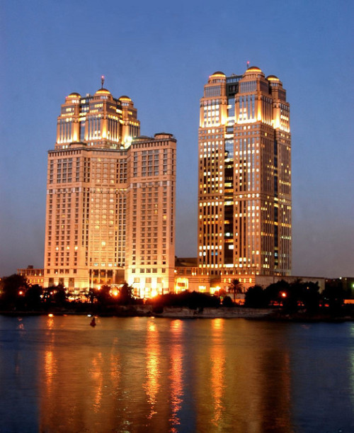"travelingcolors:  ""Twin towers"", Cairo 