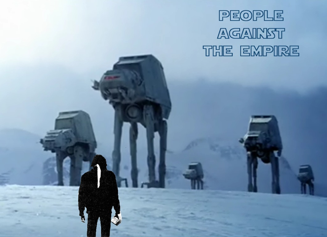 People against the Empire / Gente contra el imperio