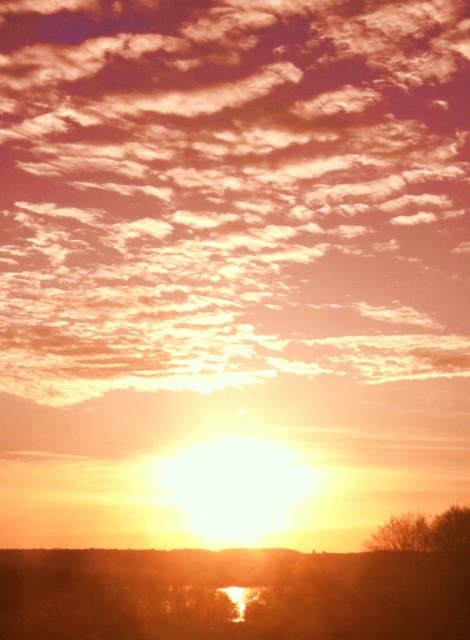 Monday Morning - A beautiful start to the week! Photo: 4/30/12. Karen Glosser