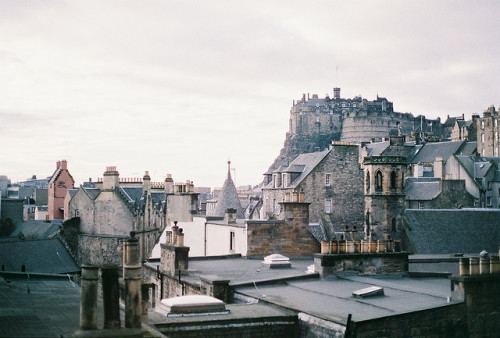 archiphile:  edinburgh castle scotland | more gorgeous architecture