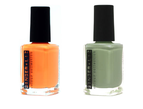 Last day to win these new Ginger + Liz nail polish colors before their even available online! Enter here.