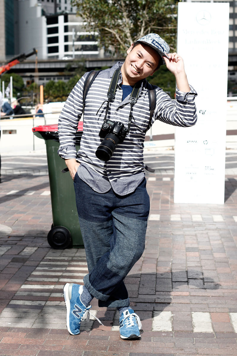 People I met and liked: Tommy Ton.