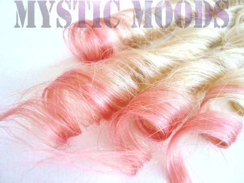 Peaches and Cream dip dye. MysticMoods@live.com