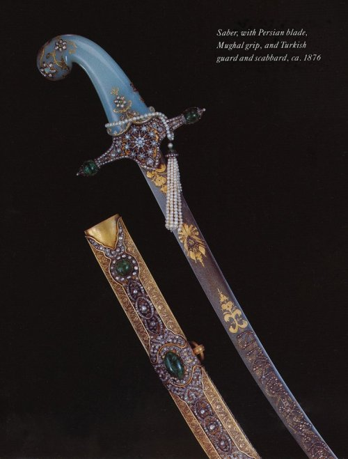 Sabre, purportedly made for the investiture of Sultan Murad V.
