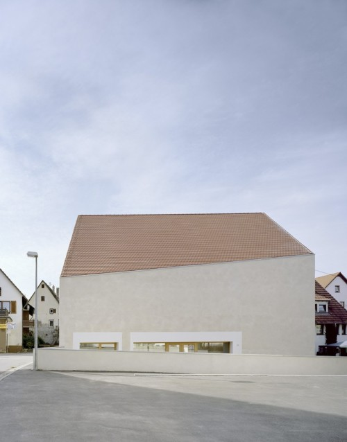 KOR Architekten - St. Laurentius church, Tübingen 2010.