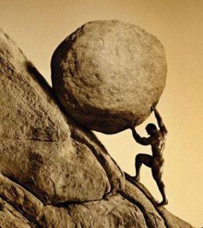 Dear Sisyphus, There is no me. That was just Buddha and Krishna messing with the cosmic vibrations again and havin some fun at your expense. Let go of it already. Love, God