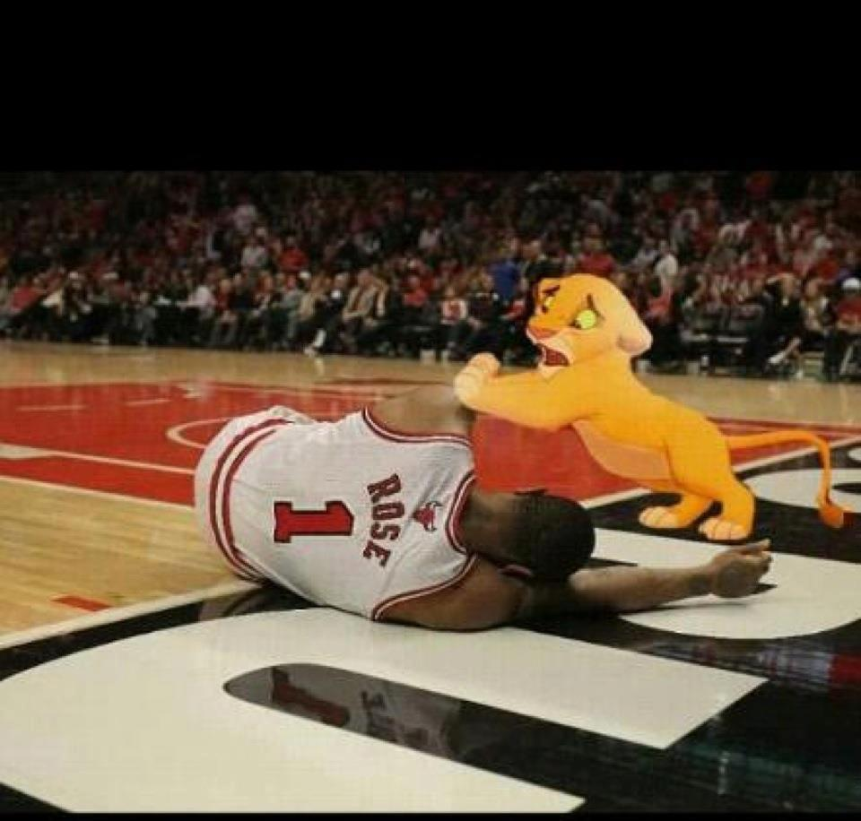 I didn't think the Derrick Rose injury could get any sadder … - Jon