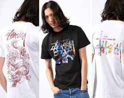 STUSSY – ZOZOTOWN 5TH ANNIVERSARY T-SHIRT COLLECTION