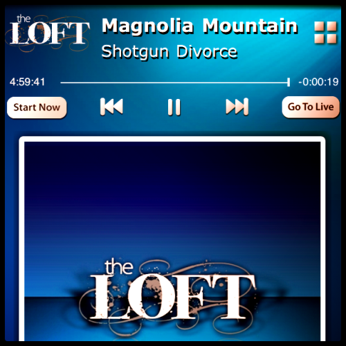 @magmtnband on @TheLoftSXm last night. Order cd/vinyl from Magnolia Mountain's latest, Town & Country here- http://magnoliamountain.net/merch.htm Digital coming soon via TIAM