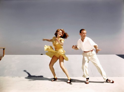margaritacarmencansino:   Rita Hayworth and Fred Astaire in color for You Were Never Lovelier, 1942