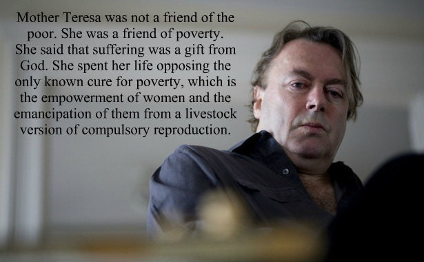 Christopher Hitchens on Mother Teresa.