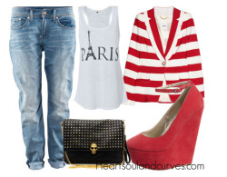 heartsoulandcurves:  How To Wear Boyfriend Jeans (Part 4)… If I was your stylist
