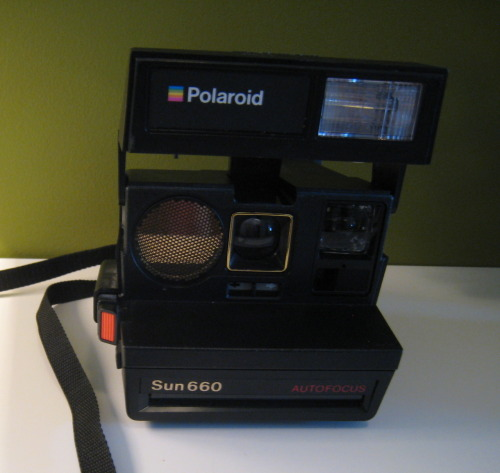 Just found my Polaroid Camera. Need film asap.