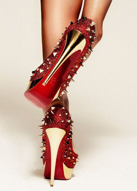 "Absolutely fabulous. These are what I call ""power heels"""