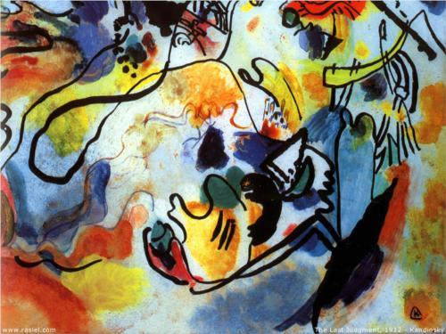 Wassily Kandinsky, The Last Judgement, 1912.