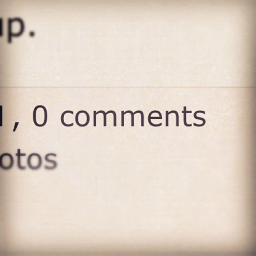 #photoadayapril 30. something that makes you sad (Taken with instagram)