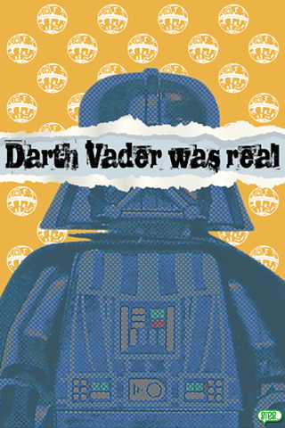legoexpress:  Darth vader was Real (by Freepouille)