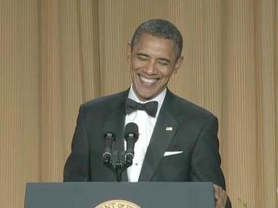 'Obama Ate a Dog' Video Tops the White House Correspondents Dinner