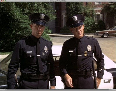 martytodpete:  Adam-12 Tag team incredulous faces.