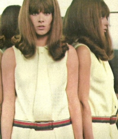 retrogirly:  Stefanie Powers  OH GOD THAT HAIR!!!!