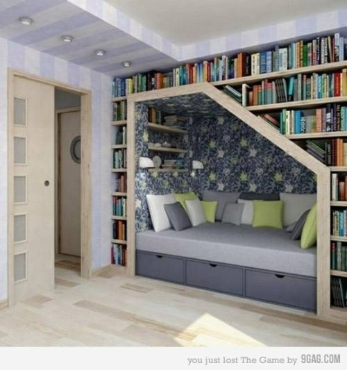 Cute book nook!
