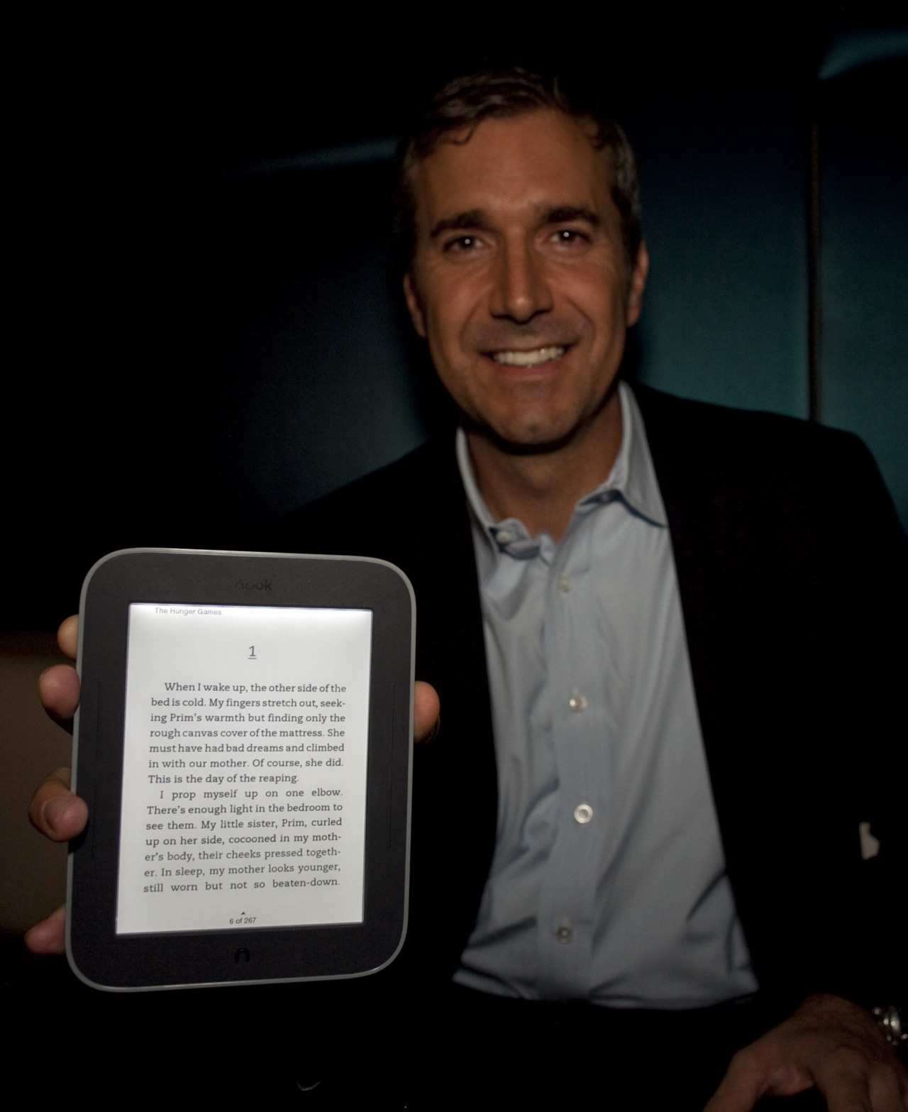 Barnes & Noble, Microsoft get cozy over Nook e-reader Microsoft Corp will invest $300 million in Barnes & Noble Inc's Nook e-reader, gaining a foothold in the fast-growing e-books market as the bookseller gets more firepower to compete against Amazon.com's Kindle and Apple Inc's iPad. The move comes as Microsoft is looking to generate excitement around its tablet-friendly Windows 8 operating system, expected on the market around October. The deal announced on Monday includes Microsoft taking a stake in the bookseller's college bookstore division. It also means that the two companies have settled their patent dispute. Shares of Barnes & Noble soared nearly 70 percent on Monday, while Microsoft shares were nearly flat. The agreement values the Nook and textbook businesses, which will form a new subsidiary, at $1.7 billion. READ MORE: Microsoft buys Nook stake; B&N shares soar