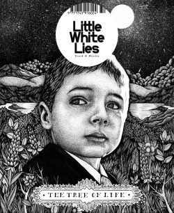 My D&AD Little White Lies entry 'Tree of Life' magazine cover.