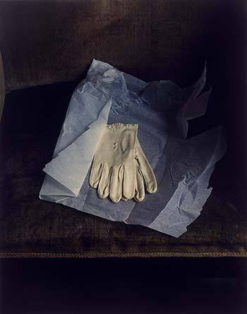 poetrysociety:  Marianne Moore's Gloves, 1983.  Evelyn Hoffer