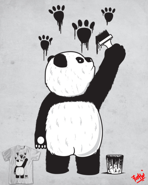 PANDALISM Art Print Available @ Society6 : http://society6.com/product/Pandalism-HTS_Print