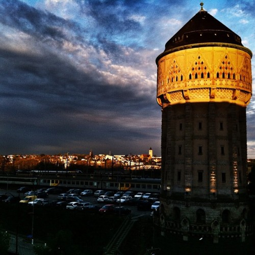 Le Château d'eau à Metz at Sunset (Taken with instagram)