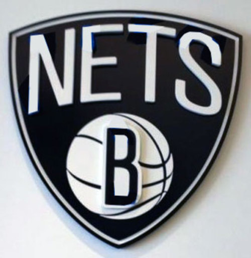 The new Brooklyn Nets logo, as designed by Jay Z!
