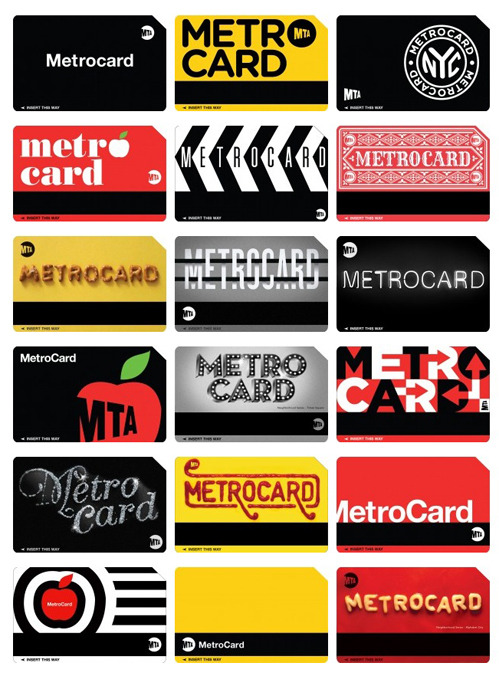 The Metrocard Project is an ongoing project that aims to redesign the iconic New York City Metrocard in a fresh way. The project was created by Melanie Chernock, a graphic designer studying at the School of Visual Arts.