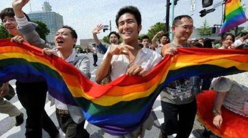 "occupyallstreets:  Tokyo Rainbow Pride Parade Aims To Raise Diversity Awareness Some 2,500 people marched in a gay pride parade in Tokyo on Sunday, vowing to transform a low-profile campaign for the rights of sexual minorities into a major movement in Japan. The crowd, mainly from the lesbian, gay, bisexual and transgender (LGBT) community, as well as their supporters and sex workers, paraded through the capital's entertainment and shopping district of Shibuya. Waving rainbow-coloured flags and banners, foreign and Japanese campaigners marched in colourful carnival and samurai warrior outfits. It was the first parade organised by Tokyo Rainbow Pride, a private organisation formed last year which aims to support the rights of sexual minorities. ""Compared with that of New York or London, Japan's awareness of sexual minorities is quite low,"" said Sayaka Kato, a spokeswoman for the organisation. ""I'm afraid Japan has yet to have a culture of accepting diversity.""  The group hopes to stage a gay pride parade with 50,000 participants within the next five years by expanding its networks among not only Japanese but foreign residents. Wataru Ishizaka, 35, who as an openly gay politician in Japan is a rarity, noted that a number of sexual minorities in the country still hesitate to take part in events in support of LGBT rights for fear of discrimination. ""Japanese sexual minorities are still concerned about their exposure to the public,"" said Ishizaka, a local Tokyo politician, after participating in the parade.  Source"
