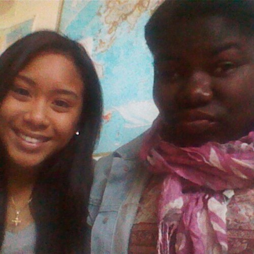 Economics With This Ratchet Btch @chrystalin. (Taken with instagram)