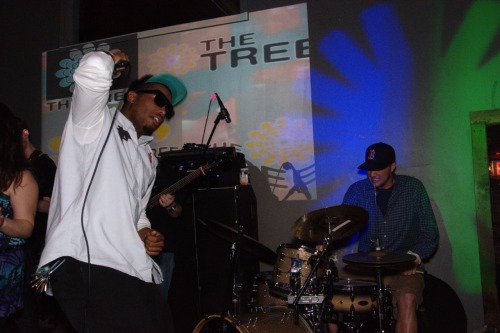 Brandon Cabral and Matt Cavanaugh of The Tree http://www.facebook.com/thetreeband Taken on April 18th at The Wonderbar in Allston, MA