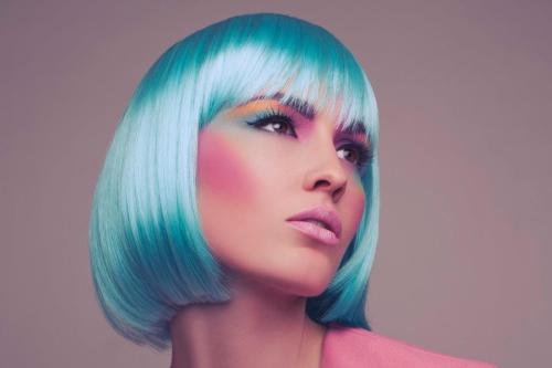 My Latest Photo-shoot Inspired by Pastels! Find out what products I used to create this look…  Teaming up with the very talented Ryan Handy and Annabelle's wigs we created this amazing shot inspired by the colours 'Pastels' which are perfect colours for this Spring Summer trends. Pastel makeup colours are both subtle and lovely. Pastels make me think of everything girlie, vintage, and spring time. I wanted the make-up in this shoot to be both natural and gorgeous. With glowing cheeks and bright make-up all over!!! Check out more images from the shoot on >here< Products I used: Base: • Airbase foundation mixed with MAC Lustre Drops in 'Pink Rebel' • MAC Mineralize Skin Finish in 'Blonde' & 'Soft and gentle' to highlight and set the skin • Famous Baked Bronzer- adding highlighting to the cheeks • MUA Powder Blusher in Shade 1- Bright pink blusher To get contoured bright eyes I used eye shadow colours from the following palettes: • MUA Immaculate Collection eye shadow palette • MUA Poptastic eye shadow palette • MUA Shade 1 Pearl single eye shadow • MUA Powder Blusher in Shade 1 • MAC Paint Pot in the following shades- pink & yellow • To create deep purple eyebrows- Ben Nye eye shadow in Shade Plum • Shu Uemura Gel eyeliner • VIVO Eyelashes in style's- Natural Night & Natural Lash • Look Beauty Mascara in Stretch Factor Lips: • Highlight the outline of the lips in MUA's Shade 1 pearl eye shadow • Grimas Cream body paint (baby pink) mixed with MAC Lustre drops in 'Pink Rebel'   Karla X