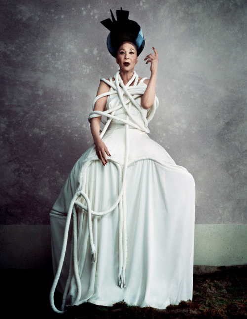 i-donline:  The Royalty Issue, Spring 2012China Machado by Daniele + Iango  Photography duo Daniele + Iango meet their match in 82 year-old model China Machado. More here. i-Donline.com