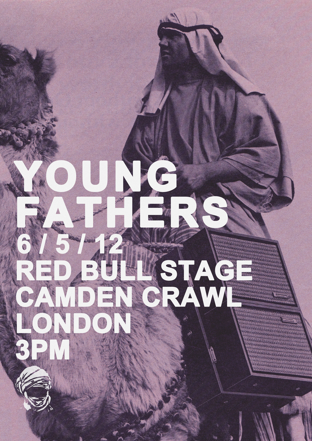 YF PLAY CAMDEN CRAWL. THIS SUNDAY 6TH MAY. RED BULL STAGE. HAWLEY CRESCENT. LONDON. 3PM.