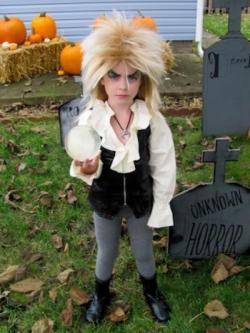 Jareth, the goblin king.